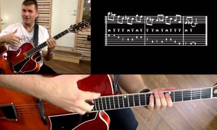 HOW TO IMPROVISE ON ALTERED CHORDS – JAZZ GUITAR LESSON