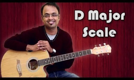 How To Play – D Major Scale – Guitar Lesson For Beginners