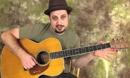 Acoustic Blues Guitar Lessons – Acoustic Blues Lick