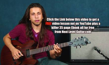 Jazz guitar lesson Summertime style learn melody chord comping ideas George Gershwin inspired