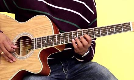 How To Play – F Major Scale – Guitar Lesson For Beginners