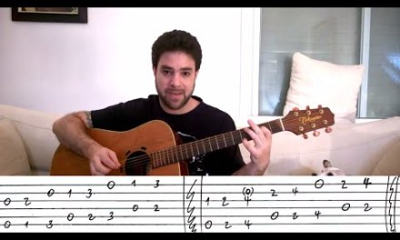 Advanced Fingerstyle: Harmonized Scales – Guitar Lesson Tutorial w/ TAB