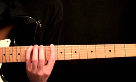 Easy To Learn Melodic Minor Scales Guitar Lesson For Jazz – Rock – Fusion – 3 Notes Per String