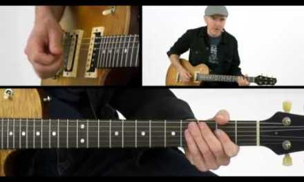 British Blues Guitar Lesson – Riff Based Straight Blues – Jeff McErlain