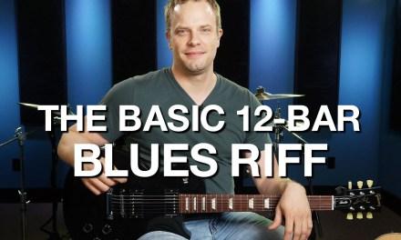 The Basic 12 Bar Blues Riff – Blues Guitar Lesson #4