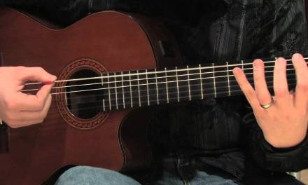 Guitar Lessons : Beginner Classical Guitar Lessons : Basic Finger Workout
