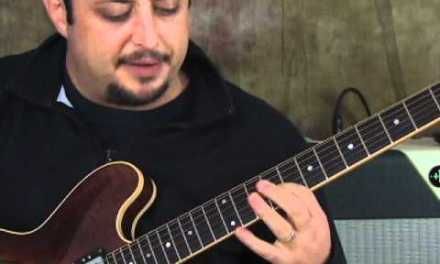 Jazz Guitar Lesson – Chord Voicing