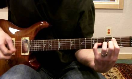 Song Of Hope (Robbie Seay) – Rhythm Electric Guitar Lesson