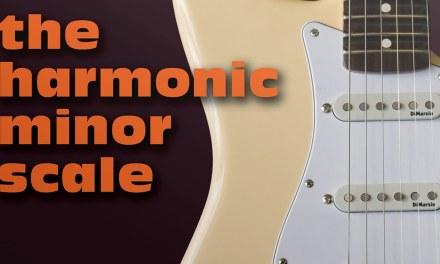 The Harmonic Minor Scale | Guitar Lesson
