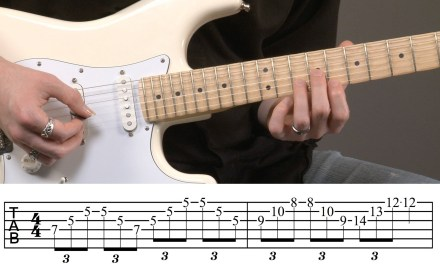 Intermediate Guitar Arpeggios Lesson