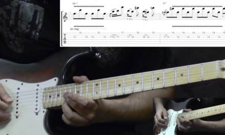 Jimi Hendrix – Red House Intro (Woodstock) – Blues Guitar Lesson (w/Tabs)