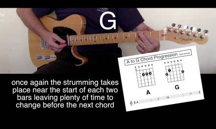 "Kids First Guitar Lesson ""One Finger Chords"" A First Lesson and Beyond"