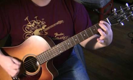 Shine On You Crazy Diamond Acoustic Guitar Lesson
