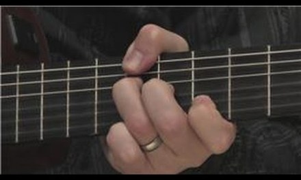 Guitar Lessons : Beginner Classical Guitar Lessons : Finger & Thumb Positions