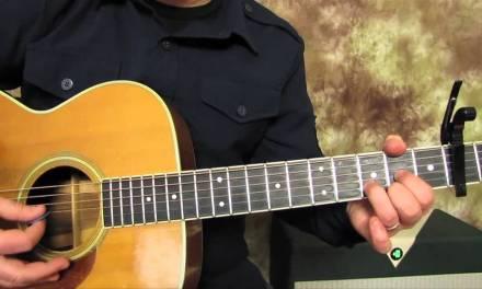 John Denver – Country Roads – Super Easy Beginner Guitar Lessons on Acoustic – How to play