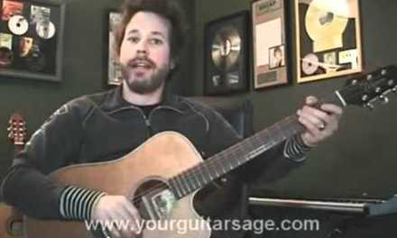 Guitar Lessons – Crazy Little Thing Called Love by Queen – cover Beginners Acoustic songs