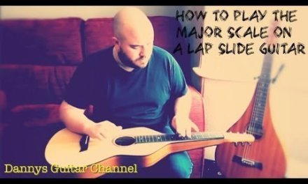 Using The Major Scale & Chords In Open D Tuning. Lap Slide Guitar Lesson
