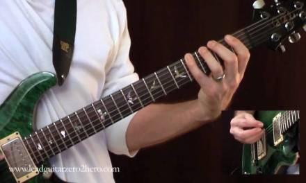 "04 Learn Electric Guitar ""L&R Hand Synchronization"" – Rock Guitar Lesson"