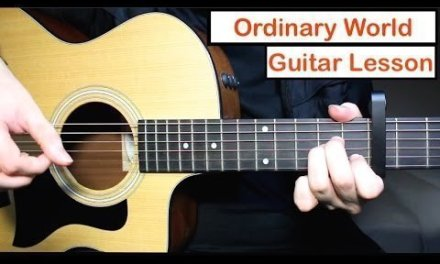 Green Day – Ordinary World   Guitar Lesson (Tutorial) How to play Chords