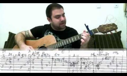 Tutorial: River Flows in You – Fingerstyle Guitar w/ TAB