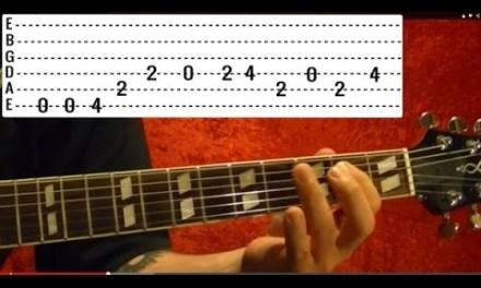 10 EASY Popular Solos – Guitar Lesson