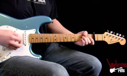 Sound Of Melodies : Electric Guitar Lesson (Leeland)