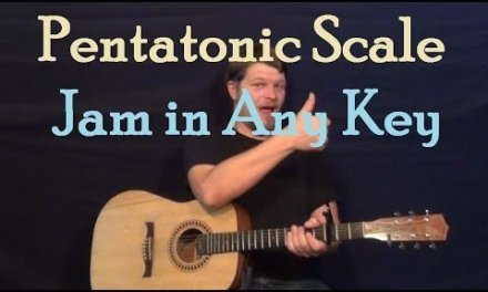 Pentatonic Scales (Guitar Lesson) Licks & Moving Patterns to Play in Any Key
