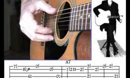 Blues Guitar Lessons – Doc Watson Deep River Blues
