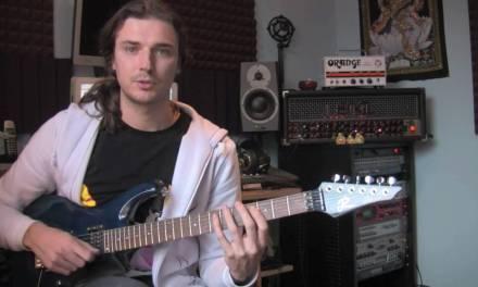 Bebop Scales – Guitar Lesson 19