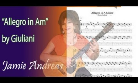 Classical Guitar Lesson: Allegro by Mauro Giuliani