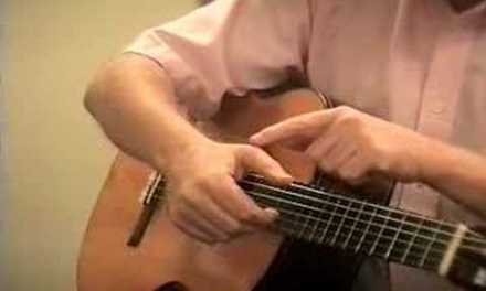Classical Guitar Lesson #2: P stroke