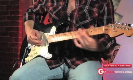 Blues Guitar Lesson – Blues Flat 5 Lick – Pentatonic Scale – Guitar Tricks Blues Guitar Lessons