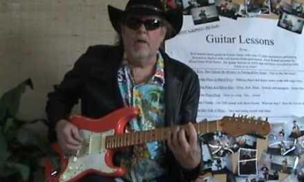 Blues Guitar Lessons by Robert Dean, Walking Blues