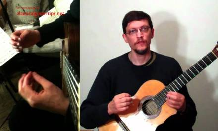 Classical Guitar Lessons Online: Shifting Cleanly
