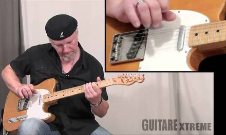 Fred Chapellier Blues Guitar Lesson – Guitare Xtreme Magazine #54