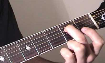 G Major Melody Acoustic Guitar Lesson