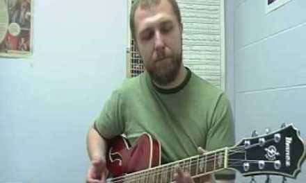 Jazz Guitar Lesson 6: Symmetrical Scale Applications