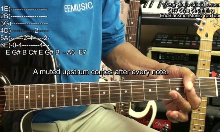 12 Bar Blues SRV Style Strumming Guitar Lesson FunkGuitarGuru Funk