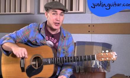 Downtown Train – Tom Waits – Beginner Song Guitar Lesson Tutorial (BS-321)