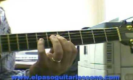 E Pentatonic and Blues Scale guitar lesson