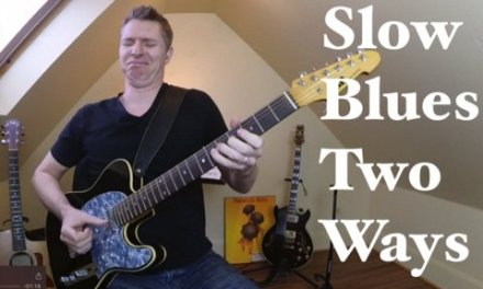 Slow Blues in G Two Ways
