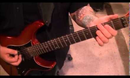 Motley Crue –  Public Enemy Number One – Electric Guitar Lesson by Mike Gross