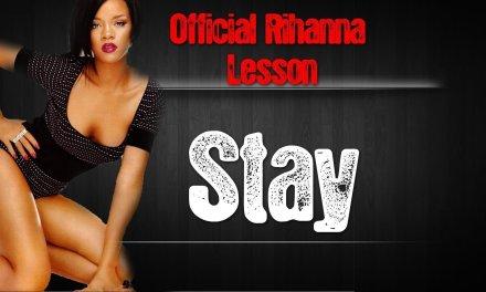 Rihanna Stay Chords Guitar Lesson | Beginner Easy Acoustic Tutorial Feat Mikky Ekko