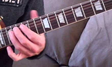 Blues Guitar Lesson:Dave Nassie:Further on Up The Road Rythm
