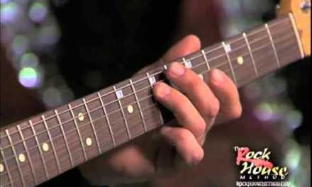 House of Blues Electric Guitar Course Lesson Sample how to Create Leads & Melodies