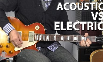 Acoustic Vs Electric Guitar – Which One is Better?