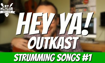 Hey Ya! Guitar Lesson (Outkast) Awesome Easy Strumming Songs on Acoustic Guitar