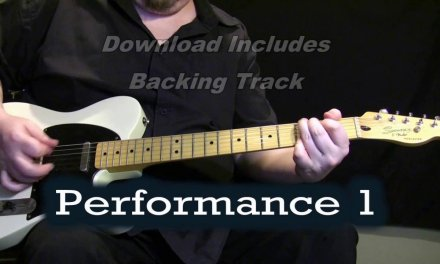 Southern Blues Guitar Lesson Demo + Backing Track