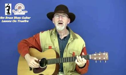 Acoustic Blues Guitar Lesson Licks And Concepts For The Key Of G