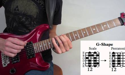 Major Pentatonic Scale Guitar Lesson – (CAGED) How To Play Up And Down The Neck
